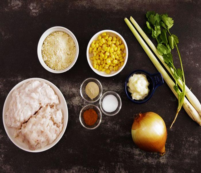 Một số nguyên liệu cơ bản làm món chả mực tôm
